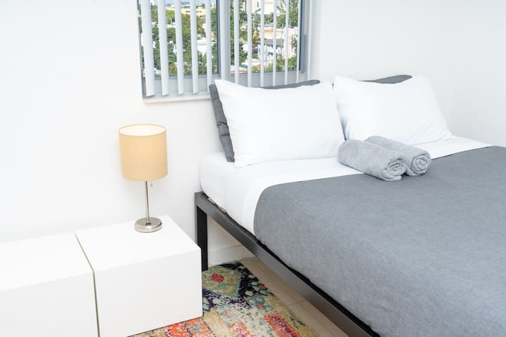 Master Bedroom + Private Bathroom East Side Miami!