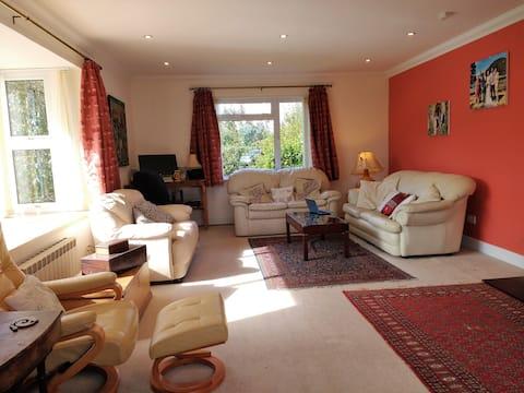 Spacious Guernsey home near the beach.