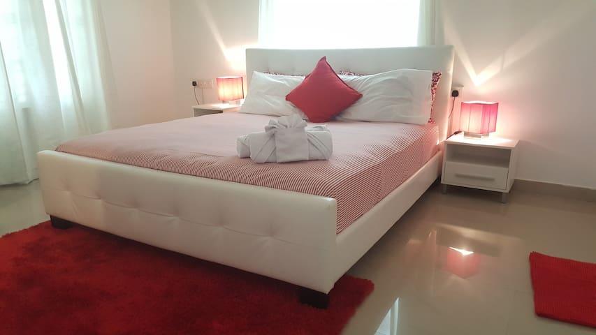 Cosy Bedroom in a Luxury Villa