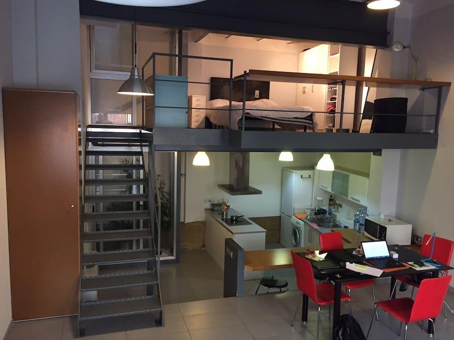 83 sq mts loft
