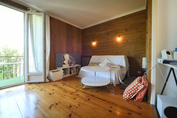 Appartement spacieux,calme et lumineux . - Montpellier - Apto. en complejo residencial