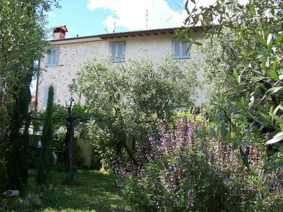The ancient farmhouse