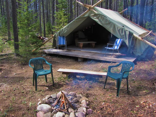 "Quiet ""Glamping"" Retreat - Coram - Tente"