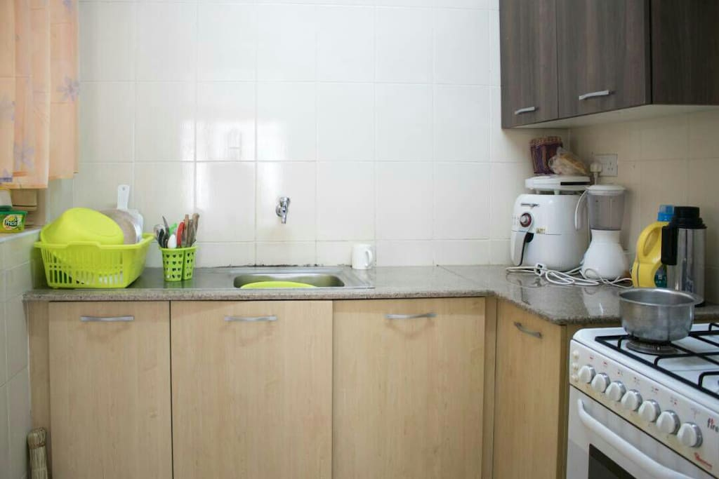 Equipped user friendly kitchen