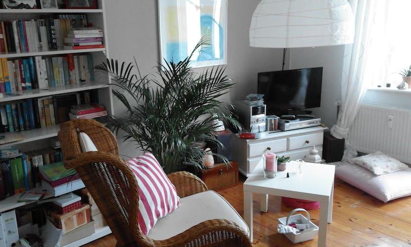 zentrale gemütliche 2-Zimmerwohnung (2-3 Pers.) - Kiel - Osakehuoneisto