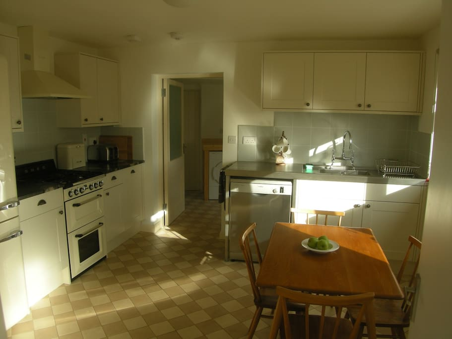 Kitchen with door to Utility Room