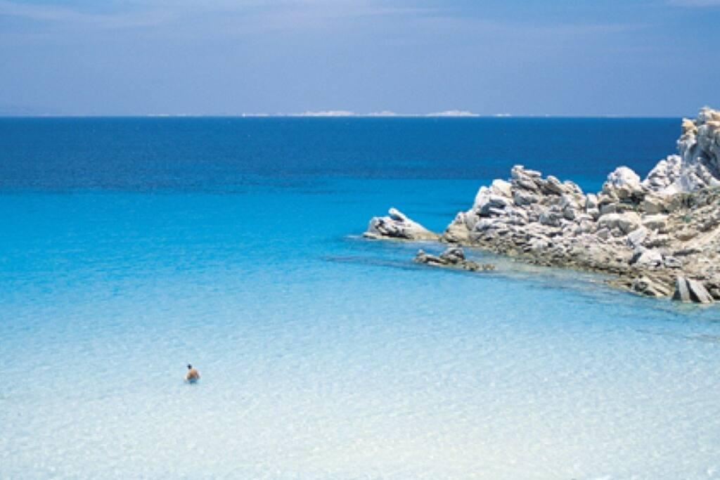 Mare cristallino spiaggia Rena bianca