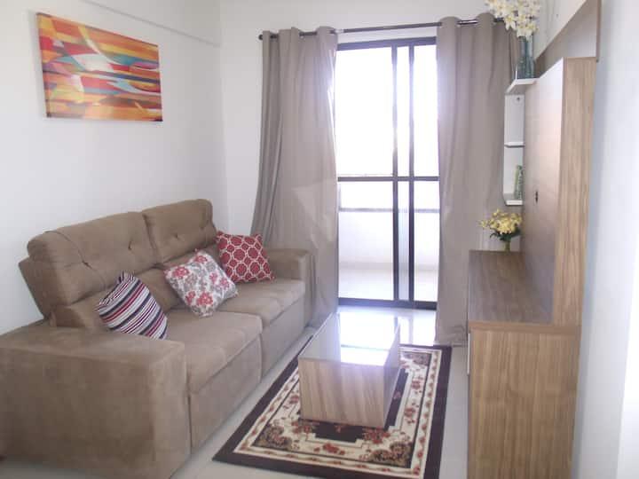 Apartamento 3/4  frente ao Aeroporto Transfer FREE