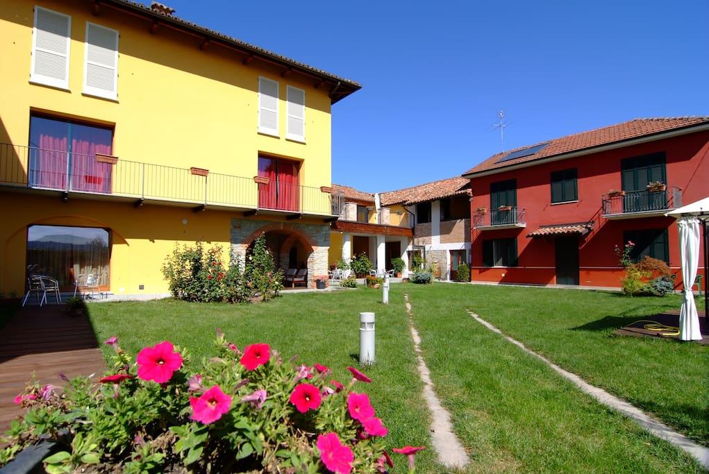Villa La Martina-the garden