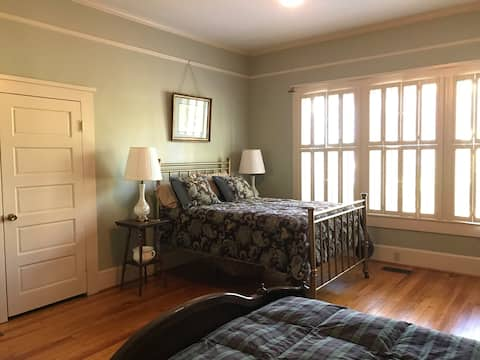 Peaceful room in historic home