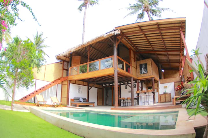 VILLA BAGHEERA - PRIVATE BEAUTIFUL 2 BR  IN GILI T
