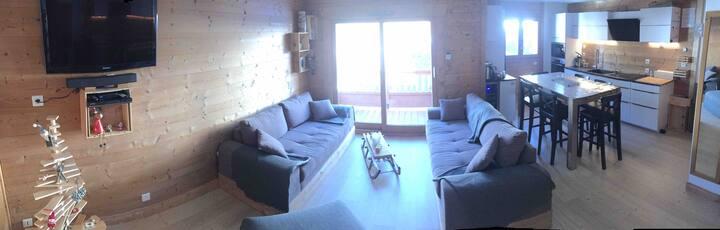 T3/T4 Duplex 66m2 Bisanne/Saisies  avec piscine