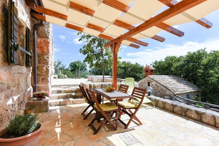 Traditional stone house Bura, Riviera Paklenica