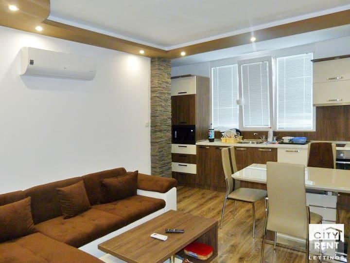 уютен тристаен апартамент