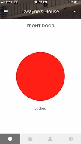 Easy access, just click on (Dwayne's House-FRONT DOOR) then click on the bottom left circle that will bring up this bright red circle (LOCKED). Click it and watch it turn green (OPEN).