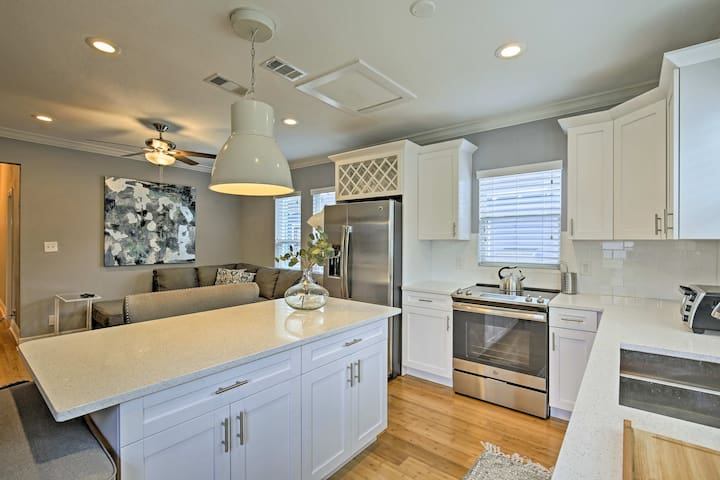 This remodeled property features top-of-the-line furnishings and a modern decor.