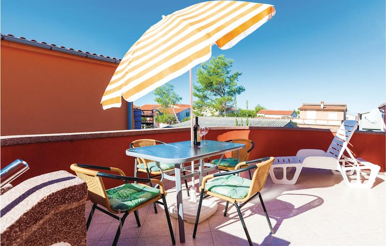 Holiday apartment with 1 bedroom on 33m² in Vir