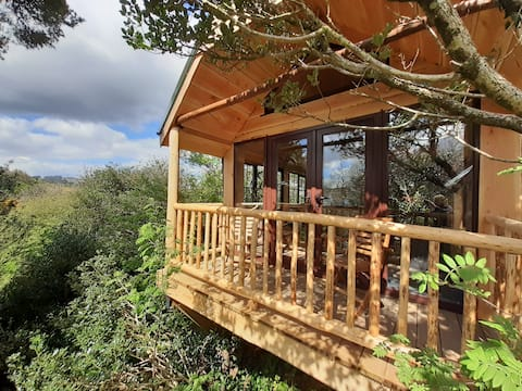 Ark Ranch Treehouse, rainforest oasis in West Cork