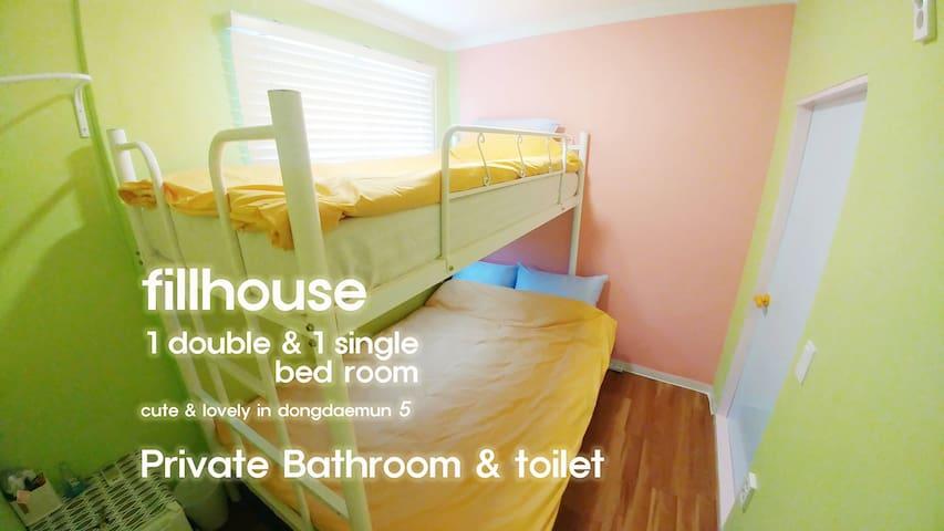 1MIN DONGDAEMUN STATION & PRIVATE BATHROOM (5)
