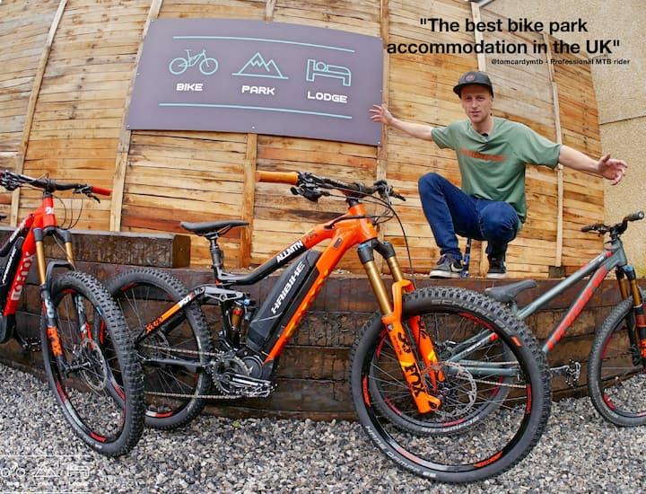 Bike Park Lodge - Best MTB accommodation in the UK