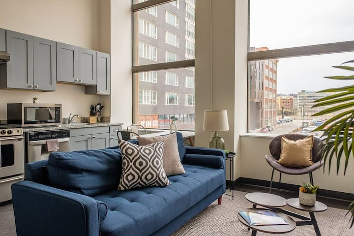 Prime Location | 1BR Apt, walk to Everything