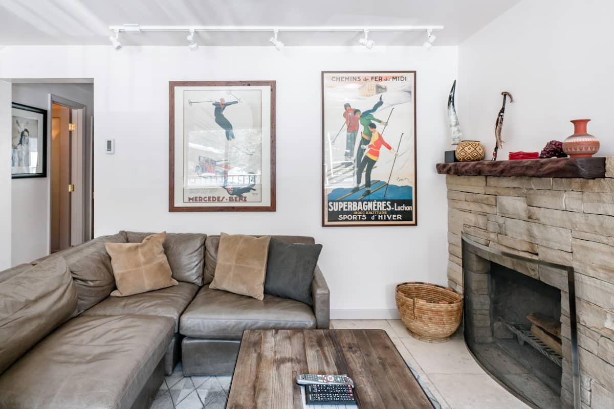 Stylish and Comfortable in Downtown Aspen