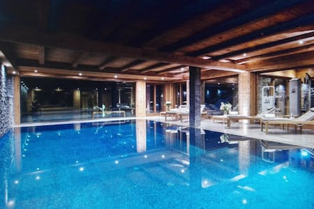Luxury Chalet for 14-16 pers  Pool+Sauna+Jacuzy - Lech