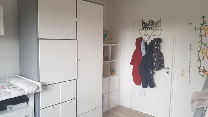 Ruhig gelegende Wohnung, ruhiges Zimmer 18 m² groß