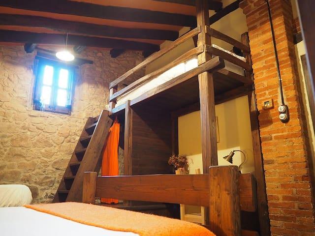 Habitación Rossinyol-Taronja Mas Cal Sastre