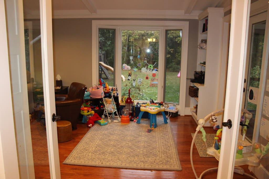 Main Floor Playroom/Family Room