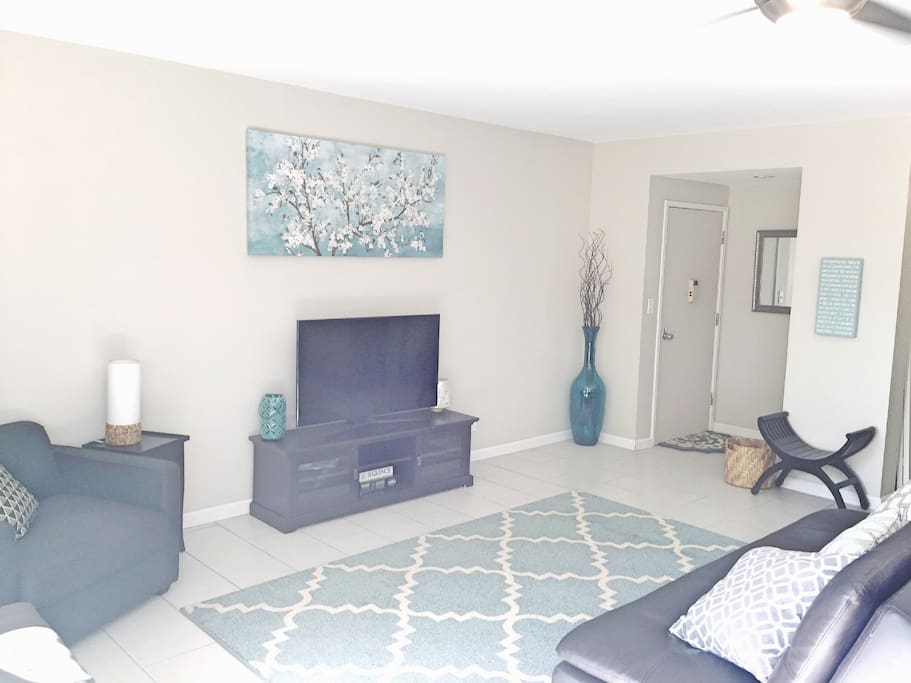 Large living area; open concept