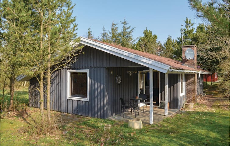Holiday cottage with 2 bedrooms on 70m² in Skjern