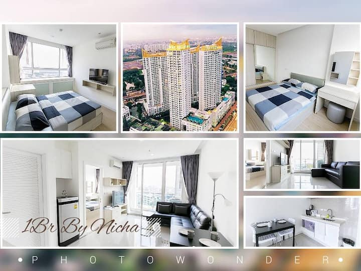 THE PERFECT LUXURY SIGNATURE:1BR/WIFI/MRT