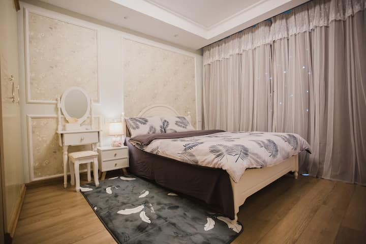 隐市/新亚、花漾城精品简欧一居室,安静休闲之所