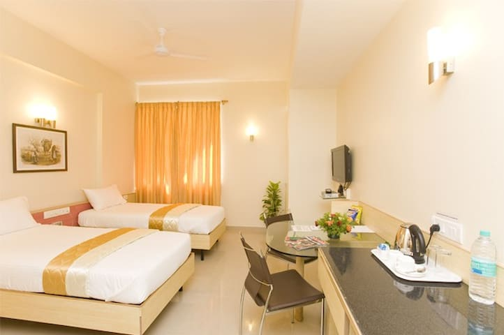 Serviced Studio Apartments near Old Airport (HAL)