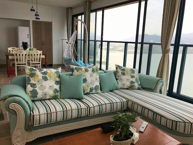轻奢•万科双月湾私人酒店公寓 - 惠州市惠东县 - Appartement