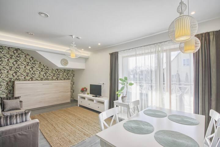 Vila Nikolas green apartments
