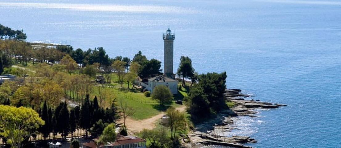 Lighthouse Savudrija - Bašanija - Faro