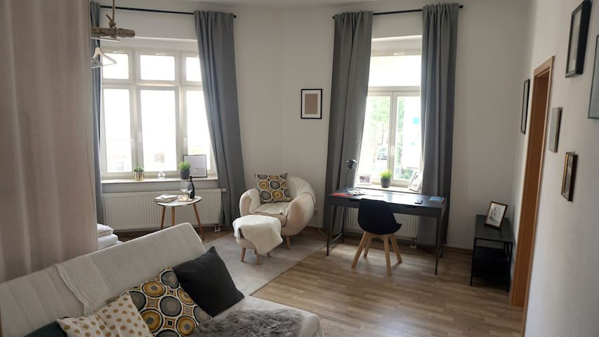 Beautiful flat in the center of Leipzig