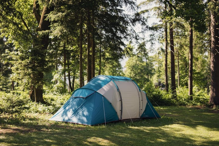 Family Rental equipped tent / Forest Camping