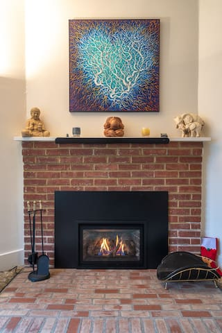 Touch start fireplace