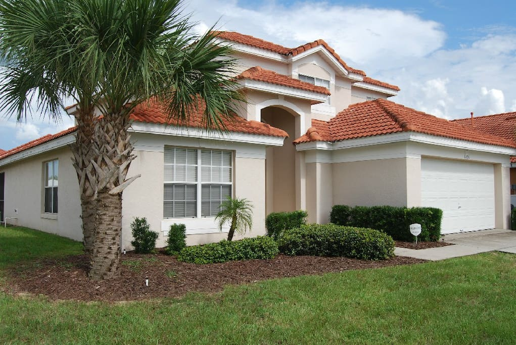 Luxury 5Bed Villa Near Disney Private Pool Spa Houses For Rent In Orl
