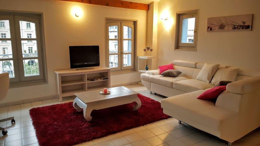 Appartement cosy au cœur de la Cité - Le Puy-en-Velay - อพาร์ทเมนท์