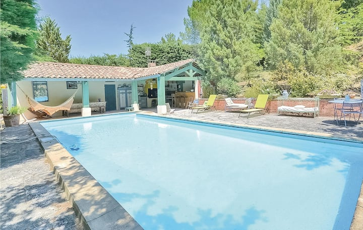 Awesome home in Roussillon with 2 Bedrooms