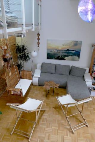 Loft with beach feeling - centre of munich
