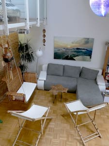 Loft with beach feeling - centre of munich - München - Loft