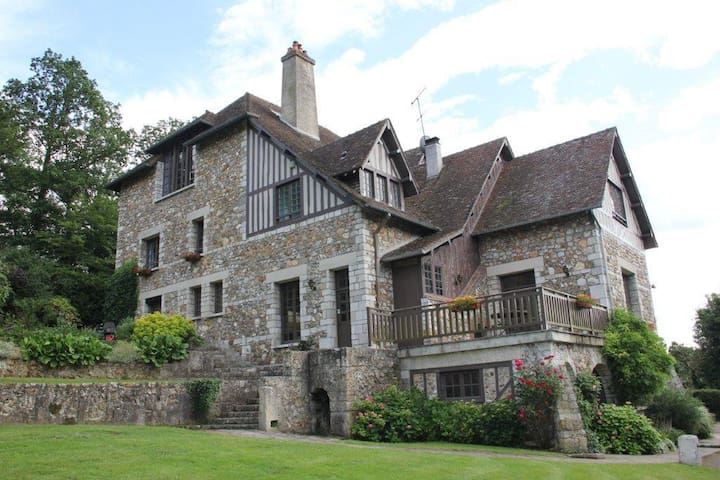 Stunning Manor House In Normandy - Arnières-sur-Iton