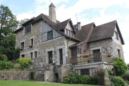 Stunning Manor House In Normandy - Arnières-sur-Iton - Dům
