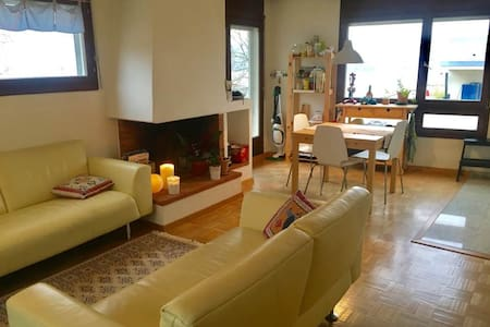 Bright apartment, 10 min from Zurich - Thalwil