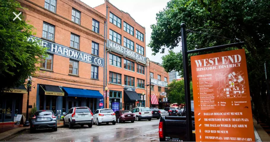 Getaway experience in Historic Distric Downtown